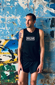 MEN'S 'RUN' RACING SINGLET