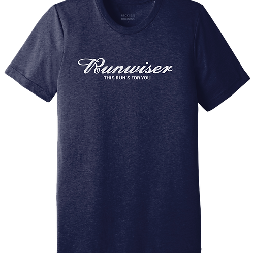Men's 'RUNWISER' in Navy Heather Triblend