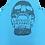 Thumbnail: Turquoise Grid Skull Performance Singlet