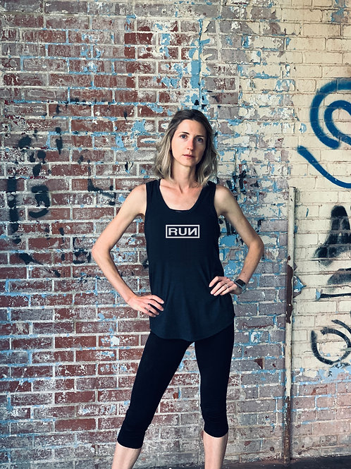 WOMEN'S TRIBLEND 'RUN' TANK