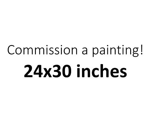 24x30 Commission