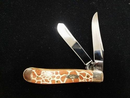 Giraffe Pattern Mini Trapper