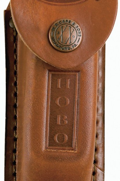 Medium Light Brown Leather Sheath