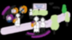 OBS Mettegeupel - illustratie - ruimte e