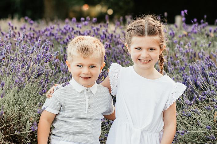 kids in the lavender- Stephanie Atkins P