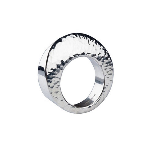 Silver Edge Ring