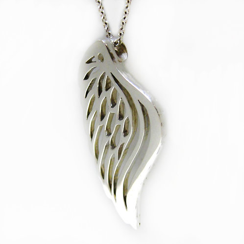 Silver Angel Wing