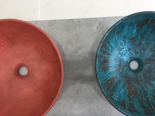 Novedades Quimera: Lavabos de Microcemento y Hansa Alessi Sense by Rodrigo Torres.