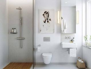 Baños pequeños?? y qué?? ideas para baños de espacios reducidos.