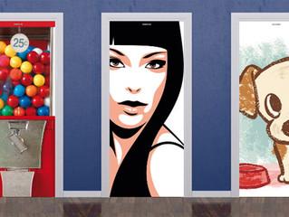 Vinilos decorativos, una solución económica e imaginativa para tus puertas y frentes de armarios.