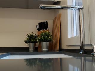 Grifo cocina escamoteable de tan sólo 2cm