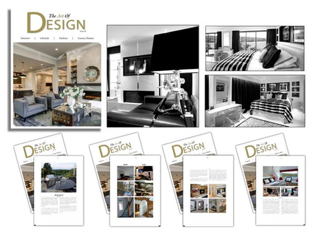 """Angel Martin featured in """"The Art of Design"""""""