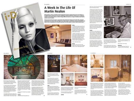 "Angel Martin featured in ""ID Magazine"""