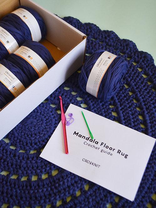Mandala Floor Rug Kit