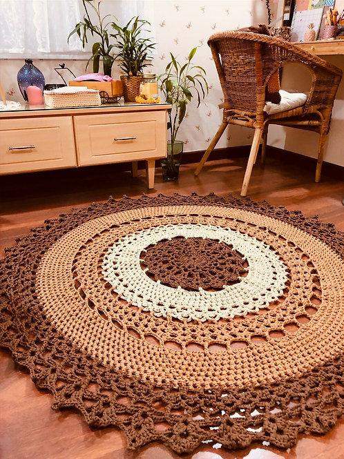 Handmade Mandala Rug