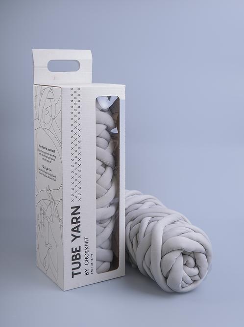 Light Grey Tube Yarn