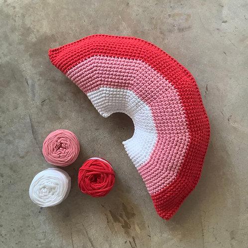 Rainbow Pillow DIY kit