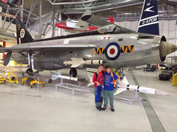 Excursión al museo de los aviones