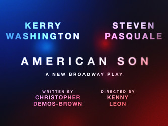 KERRY WASHINGTON and STEVEN PASQUALE to Star in AMERICAN SON