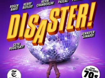 DISASTER! CAST ALBUM RECORDING to be released Friday, September 9 by Broadway Records