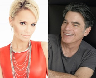 ON THE TWENTIETH CENTURY stars Kristin Chenoweth and Peter Gallagher in conversation at 92 Street Y