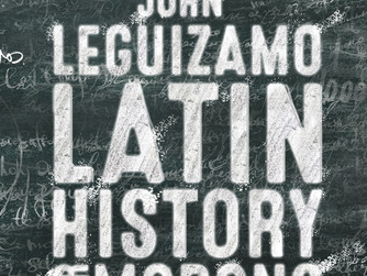 Emmy Award Winner John Leguizamo Returns to Broadway in LATIN HISTORY FOR MORONS