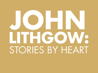 ROUNDABOUT THEATRE COMPANY Presents JOHN LITHGOW: STORIES BY HEART