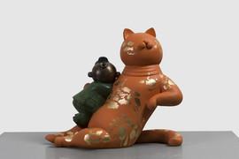 Orange Cat - Ocean 桔猫 – 海洋