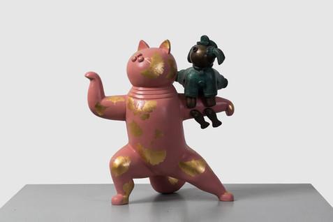 Pink Cat  粉猫
