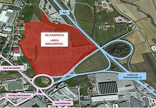 Terreno logistico di mq. 131.650 in prossimità del casello autostradale della A28