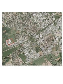 Altavilla aerofotogramma area