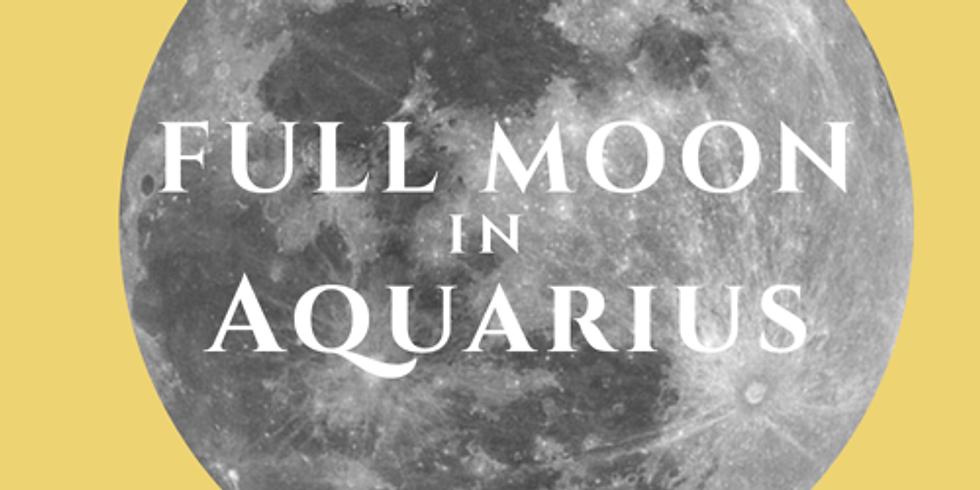 Full Moon in Aquarius Guided Meditation