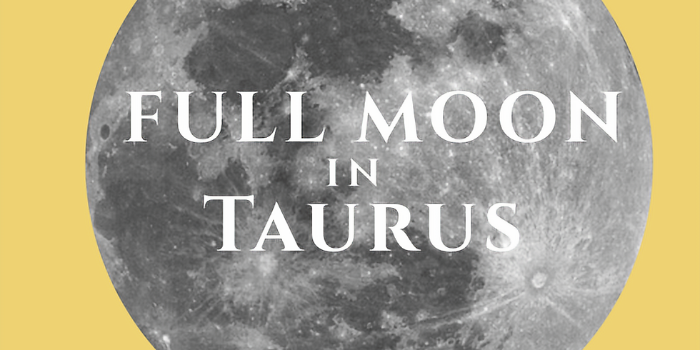 Full Moon in Taurus Guided Meditation