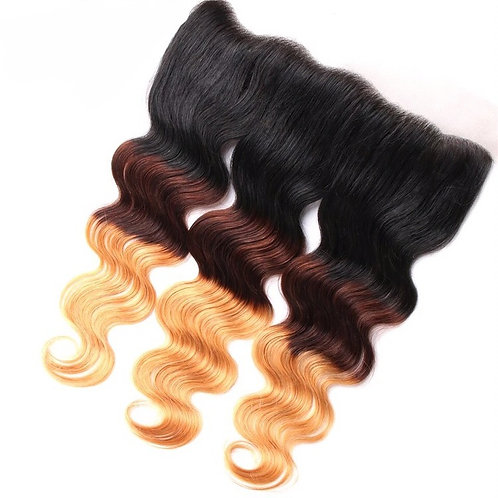 Anglo Ombre' Mink Brazilian Frontal
