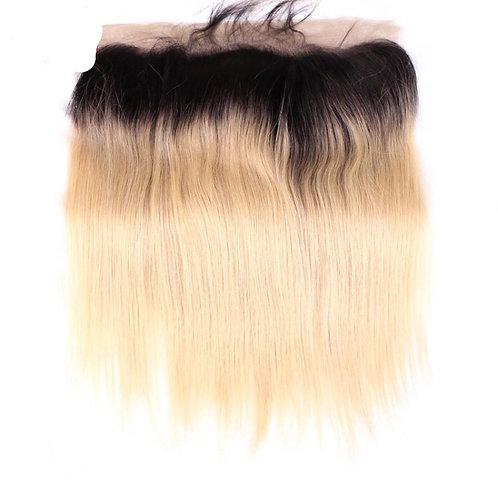 Straight Cremello Dark Blonde Frontal