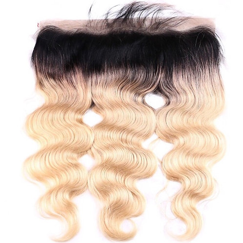 Cremello 613 Blonde Dark Mink Frontal