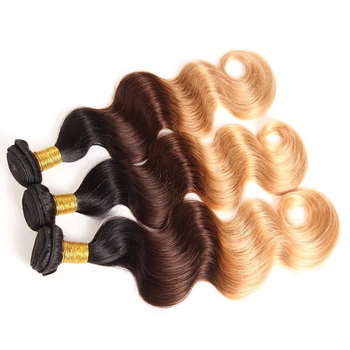 Anglo Ombre' Mink Brazilian Body Wave