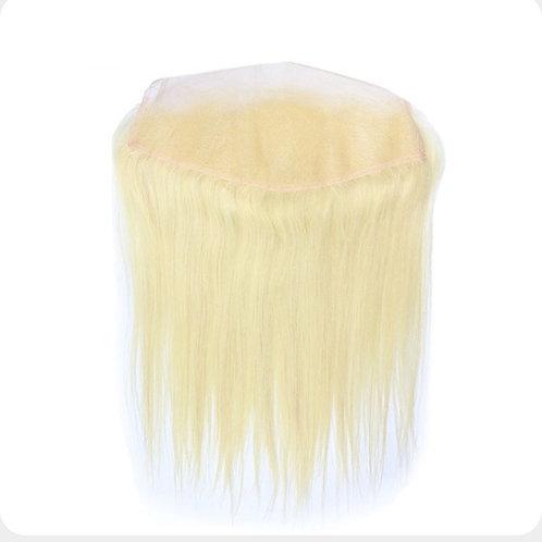Straight Cremello Blonde Frontal