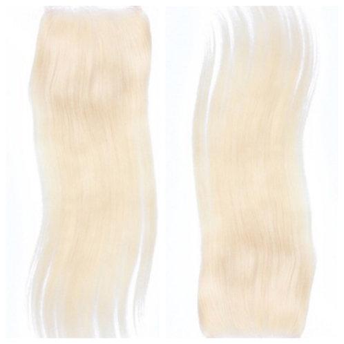 Cremello 613 Blonde Straight Closure