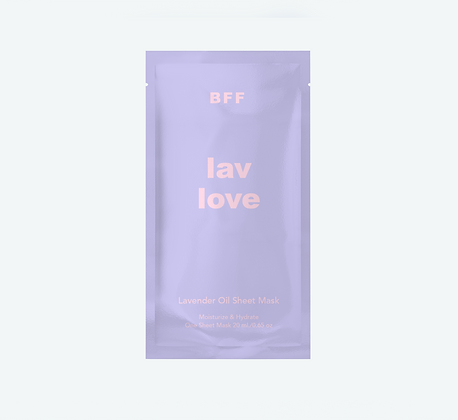 Lav Love - Sheet Mask