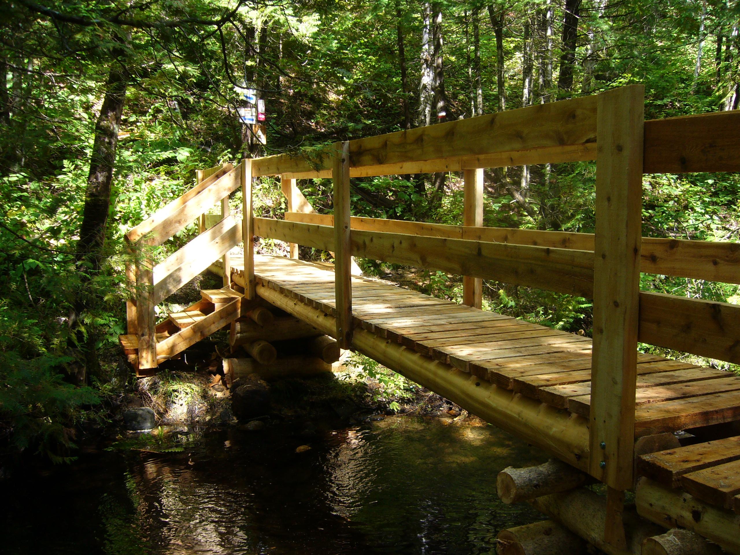 sentier ponts