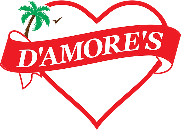 D'Amore's Restaurant Logo red aug 2019 (