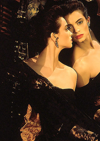 Poster classic Spanish looking headshot.