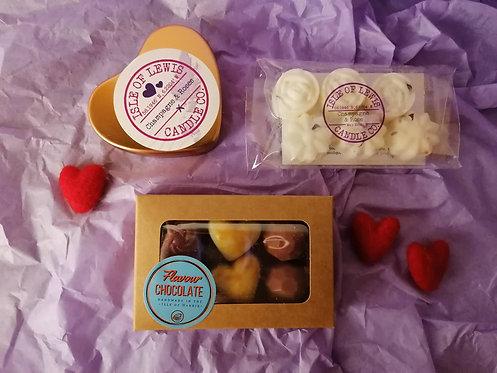 Candle & Melts Gift Set