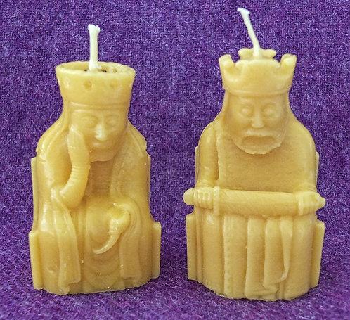 Lewis Chessmen Candles