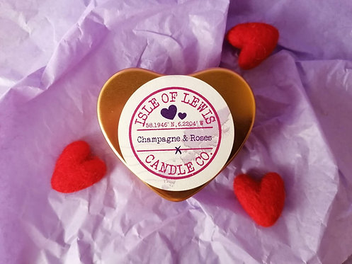 Heart Tin Candle 50ml