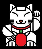 mandarin lucky cat