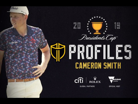 Presidents Cup Player Profiles: Cameron Smith
