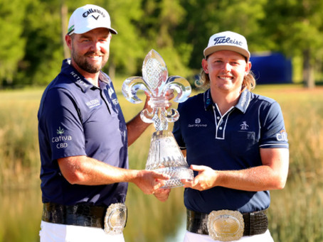Cameron Smith & Marc Leishman win in playoff to claim 2021 Zurich Classic title