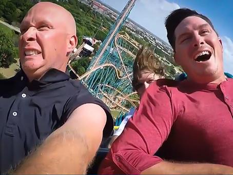Joel Dahmen and caddie Geno Bonnalie know how to have fun